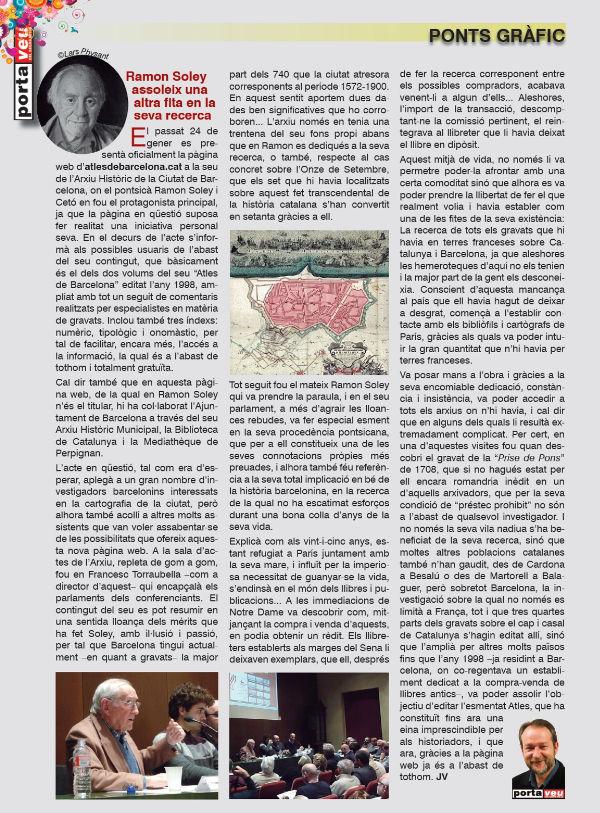 Ramon Soley, Una vida dedicada a la recerca